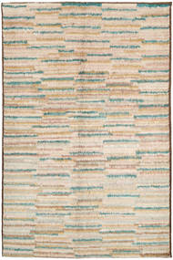 Barchi/Moroccan Berber Rug 151X241 Authentic  Modern Handknotted Light Brown/Beige (Wool, Afghanistan)