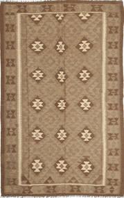 Kelim Maimane Teppe 154X251 Ekte Orientalsk Håndvevd Lysbrun/Brun (Ull, Afghanistan)