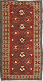 Kilim Maimane Dywan 105X205 Orientalny Tkany Ręcznie Jasnobrązowy/Rdzawy/Czerwony (Wełna, Afganistan)