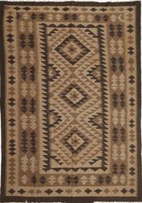 Kilim Maimane Dywan 193X285 Orientalny Tkany Ręcznie Jasnobrązowy/Brązowy/Ciemnobrązowy (Wełna, Afganistan)