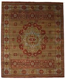 Damask Matto 254X308 Moderni Käsinsolmittu Ruskea/Tummanruskea Isot ( Intia)