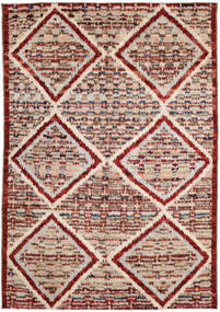 Barchi/Moroccan Berber Rug 191X287 Authentic  Modern Handknotted Light Brown/Light Grey (Wool, Afghanistan)