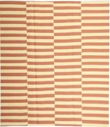 Kelim Moderni Matto 228X265 Moderni Käsinkudottu Vaaleanruskea/Keltainen (Puuvilla, Persia/Iran)