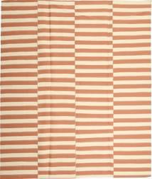 Kelim Moderni Matto 229X267 Moderni Käsinkudottu Beige/Vaaleanpunainen (Puuvilla, Persia/Iran)