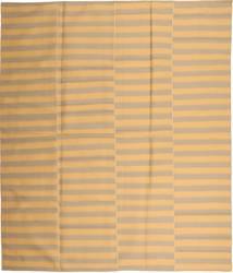 Kelim Moderni Matto 230X270 Moderni Käsinkudottu Vaaleanruskea/Tummanbeige (Villa, Persia/Iran)