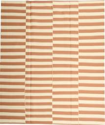 Kilim Modern Rug 223X260 Authentic  Modern Handwoven Light Brown/Beige/Light Pink (Cotton, Persia/Iran)