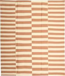 Kelim Moderni Matto 229X266 Moderni Käsinkudottu Vaaleanruskea/Beige (Puuvilla, Persia/Iran)