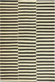 キリム モダン 絨毯 178X267 モダン 手織り 濃いグレー/ベージュ (ウール, ペルシャ/イラン)