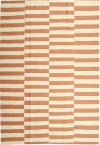 Kilim Modern Rug 221X313 Authentic  Modern Handwoven Light Brown/Beige (Cotton, Persia/Iran)