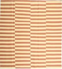 Kelim Moderne Teppe 232X256 Ekte Moderne Håndvevd Lysbrun/Beige (Bomull, Persia/Iran)