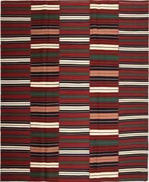 Kilim Modern Rug 287X350 Authentic  Modern Handwoven Dark Red/Black Large (Cotton, Persia/Iran)