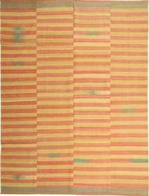 Kilim Moderno Alfombra 222X295 Moderna Tejida A Mano Marrón Claro/Naranja (Lana, Persia/Irán)
