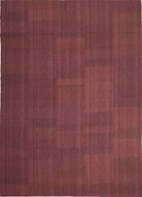 Kilim Nowoczesne Dywan 212X295 Nowoczesny Tkany Ręcznie Ciemnofioletowy/Fioletowy (Wełna, Persja/Iran)