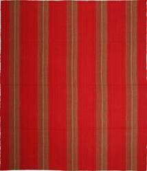 Kelim Moderni Matto 252X294 Moderni Käsinkudottu Ruoste/Punainen Isot (Villa, Persia/Iran)