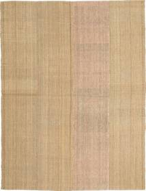 Kilim Modern Rug 168X220 Authentic  Modern Handwoven Light Brown/Dark Beige (Wool, Persia/Iran)