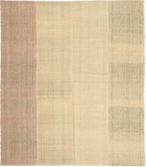 Kilim Modern Rug 168X192 Authentic  Modern Handwoven Dark Beige/Light Brown/Yellow (Wool, Persia/Iran)