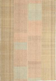 Kilim Modern Rug 165X241 Authentic  Modern Handwoven Dark Beige/Light Brown (Wool, Persia/Iran)