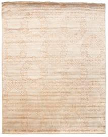Damask 絨毯 241X306 モダン 手織り ベージュ/ライトピンク ( インド)