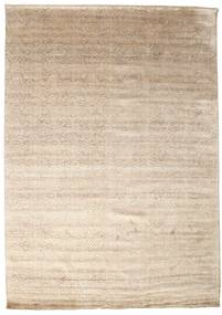 Damask Rug 250X354 Authentic  Modern Handknotted Beige/Light Grey Large ( India)