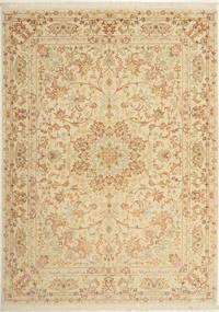 Tabriz#60 Raj silkesvarp matta AXVZC1004