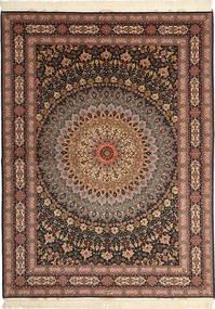 Tapis Tabriz#60 Raj chaîne de soie AXVZC1029
