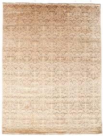 Damask 絨毯 226X298 モダン 手織り 薄茶色/ベージュ ( インド)