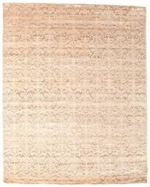 Damask Rug 239X296 Authentic  Modern Handknotted Beige/Light Pink ( India)