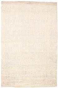 Damask Rug 169X258 Authentic  Modern Handknotted Beige ( India)