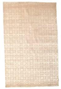 Damask Ковер 170X264 Современный Ковры Ручной Работы Бежевый/Светло-Розовый ( Индия)