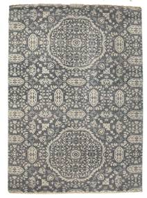 Damask Rug 173X241 Authentic  Modern Handknotted Dark Grey/Light Grey ( India)