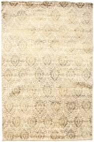 Damask 絨毯 180X273 モダン 手織り ベージュ/薄茶色 ( インド)