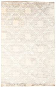 Damask Covor 201X303 Modern Lucrat Manual Bej/Gri Deschis ( India