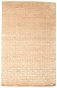 Damask Rug 169X262 Authentic  Modern Handknotted Dark Beige/Beige ( India)