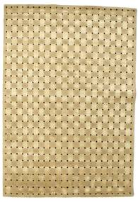 Himalaya Rug 170X245 Authentic  Modern Handknotted Beige/Light Green ( India)