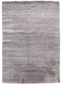 Damask Rug 171X245 Authentic  Modern Handknotted Light Grey ( India)
