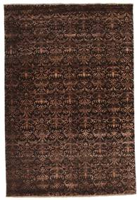 Damask Rug 183X272 Authentic  Modern Handknotted Dark Red/Dark Brown/Light Brown ( India)