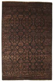 Damask Rug 178X274 Authentic  Modern Handknotted Dark Brown/Light Brown ( India)