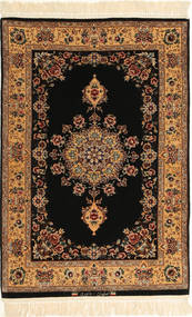 Isfahan zijden pool getekend: Davari tapijt AXVZC638