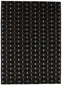 Himalaya Rug 144X197 Authentic  Modern Handknotted Black ( India)