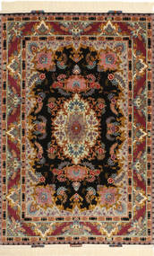 Tabriz#70 Raj шелковая основа Sighned: Izadi ковер AXVZC738