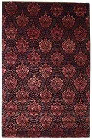Damask Rug 196X301 Authentic  Modern Handknotted Dark Red ( India)
