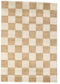 Himalaya Rug 140X200 Authentic  Modern Handknotted Beige/Dark Beige ( India)