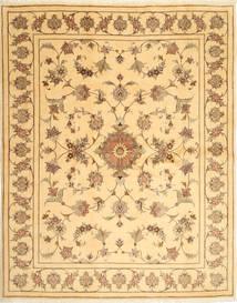 Yazd Matto 200X251 Itämainen Käsinsolmittu Tummanbeige/Vaaleanruskea (Villa, Persia/Iran)