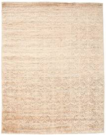 Damask Rug 234X301 Authentic  Modern Handknotted Beige/Light Brown ( India)