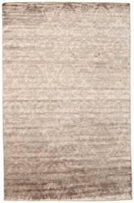 Damask 絨毯 195X302 モダン 手織り 薄い灰色/薄茶色 ( インド)