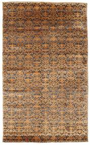 Damask Rug 183X302 Authentic  Modern Handknotted Brown/Light Brown ( India)
