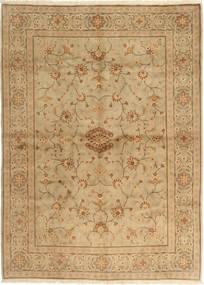 Yazd Matta 172X239 Äkta Orientalisk Handknuten Ljusbrun/Brun (Ull, Persien/Iran)