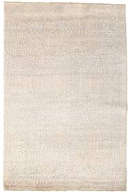 Damask Rug 172X261 Authentic  Modern Handknotted Beige/Light Grey ( India)