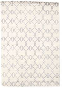Himalaya Rug 168X246 Authentic  Modern Handknotted Beige/White/Creme (Wool, India)