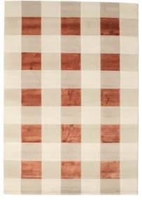Himalaya 絨毯 167X241 モダン 手織り ベージュ/赤 ( インド)